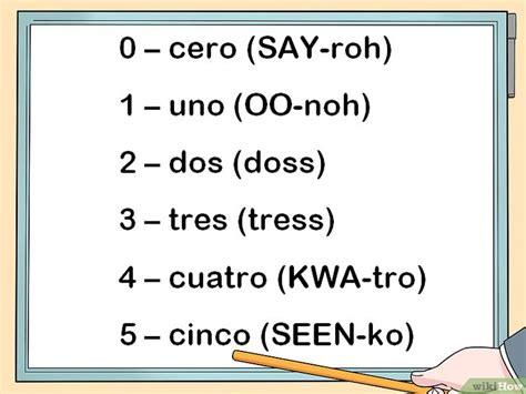 comment compter jusqua  en espagnol  etapes