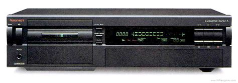 nakamichi cassette deck 1 5 manual three head stereo