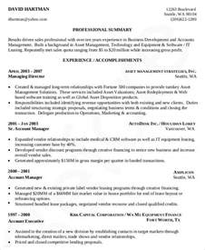 Professional Development On Resume by 24 Business Resume Templates Free Premium Templates