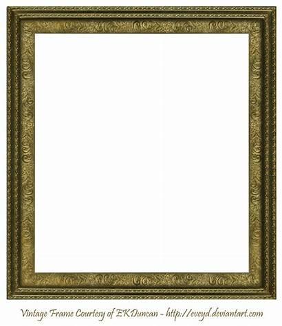 Frame Square Transparent Clipart Antique Deviantart Scroll