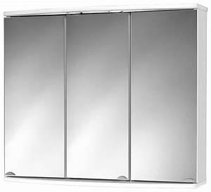 Spiegelschrank 55 Cm Breit : sieper spiegelschrank modena breite 83 cm mit led beleuchtung online kaufen otto ~ Indierocktalk.com Haus und Dekorationen