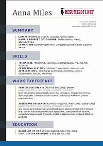resume format 2017 16 free to download word templates With free best resume templates 2017