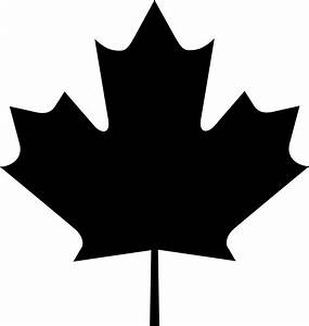 Maple Leaf Clip Art Black And White - Cliparts.co