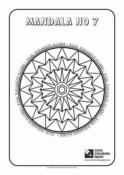 Mandala Mandalas Coloring Cool Pages Educational Activities