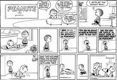 1959 November Peanuts Comic Strips Linus Strip