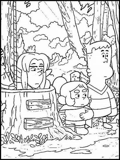 Creek Craig Coloring Greg Mundo Colorir Printable