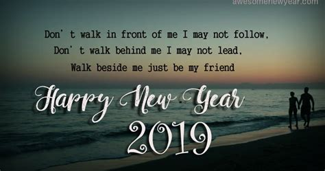 Happy New Year 2019 Wishes Quotes For Friends