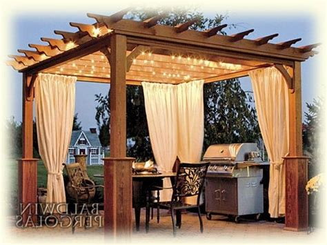 in style lighting outdoor curtains for pergola schwep