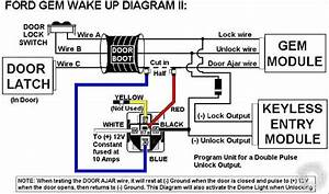 Understanding Ford Gem Wake Up Diagram