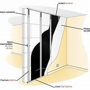 Isolation Intérieure Mince : isolation phonique d un mur interieur acoustique faible ~ Dode.kayakingforconservation.com Idées de Décoration