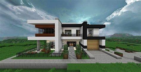 luxury modern house plans minecraft  home plans design