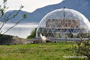Glass Dome House - Glitzcamp Glamping Tent Hotel -Luxury ...
