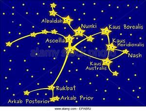 Sagittarius Constellation Stock Photos & Sagittarius ...