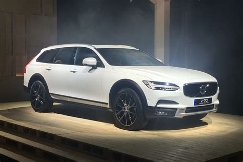 new volvo new volvo v90 cross country toughens up the v90 estate
