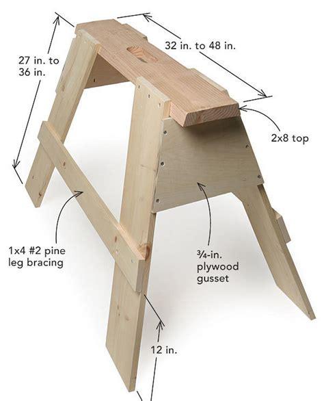 sliding compound miter saw building sturdy sawhorses homebuilding