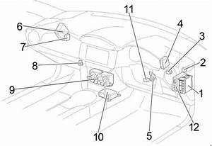 Toyota 86  2012 - 2017  - Fuse Box Diagram