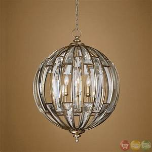 Vicentina Contemporary 6 Light Sphere Pendant 22031