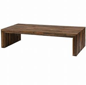 Reclaimed Wood Coffee Table Casual Cottage