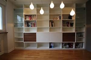 Bibliothèque Murale Design : mobilier sur mesure lynium metz agencement bibliotheques salons ~ Teatrodelosmanantiales.com Idées de Décoration