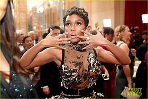 Janelle Monae Arrives In Style For Her First Oscars