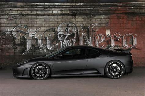 Black Ferrari Wallpaper  Desktop Wallpaper