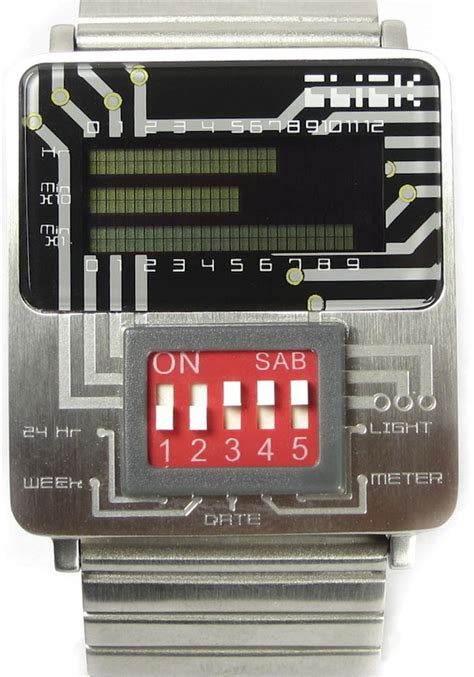 Click Dip Switch Turn Circuit Board Style