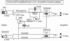 Baofeng Speaker Mic Wiring Diagram As Well As Interconnect