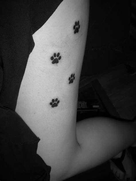 dog paw print tattoos designs ideas  meaning tattoos