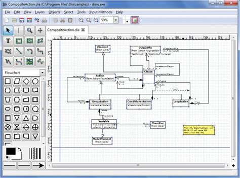 home design for mac view dia diagram editor screenshot