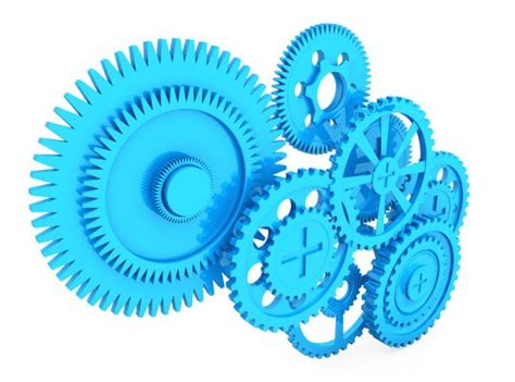 gears working  stock photo template  sample