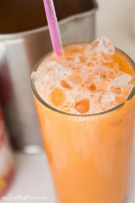 thai tea recipe thai iced tea recipe ชาเย น authentic street food style