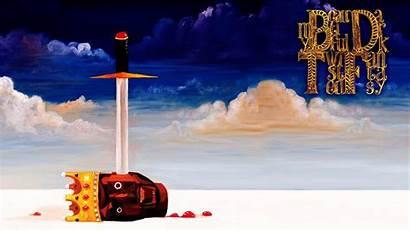 Kanye West Power Twisted Dark Album Fantasy