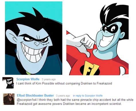 Kim Possible Memes - drakken is freakazoid kim possible know your meme