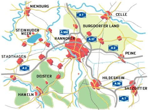 Wohnung Mit Garten Region Hannover by By Car Hannover Central Located In Europe Business