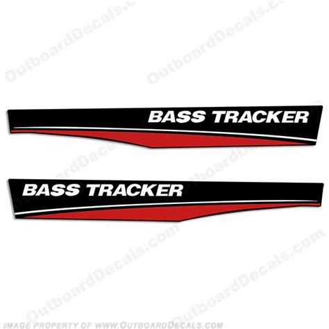 Bass Tracker Boat Graphics by Tracker Boat Decals Stickers Images