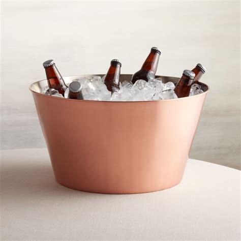 martin copper beverage tub reviews crate  barrel