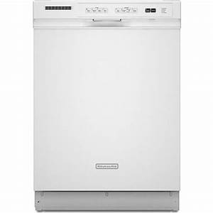 Kitchenaid Kudk03itwh Full Console Dishwasher With 4