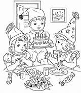 Coloring Birthday Pages Happy Printable Christmas Scene Jesus Colouring Drawing Sheets Google Zoeken Cake Xmas Cakes 1370 1200 Popular Birthdays sketch template