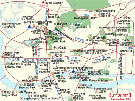 guangzhou maps map  guangzhou china guangzhou tourist