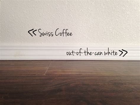 Swiss coffee by behr (cabinets). Pin on paint colors