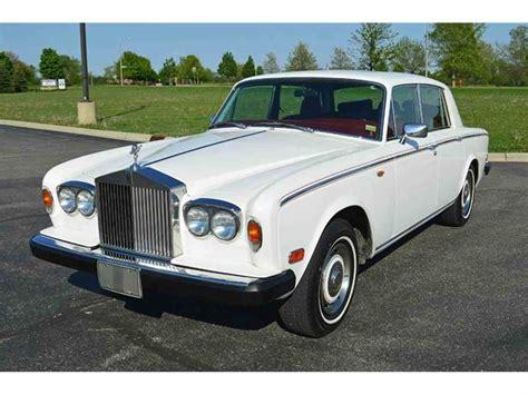 1980 Rolls Royce Silver Shadow by 1980 Rolls Royce Silver Shadow For Sale Classiccars