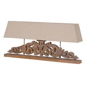 Maison Lamps by Wide Carved Lamp