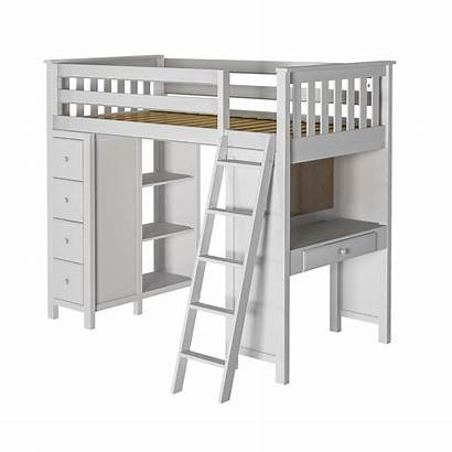 Bed Loft Study Storage Jackpot Kensington