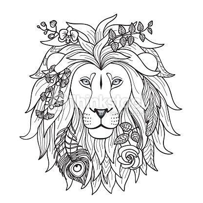 dibujo leon buscar  google dibujos de leones dibujos arte