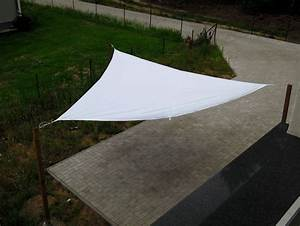 Sonnensegel Pfosten Holz : ein sonnensegel an holzpfosten befestigen so geht 39 s ~ Michelbontemps.com Haus und Dekorationen