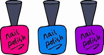 Nail Clip Polish Pink Pedicure Clipart Fingernail