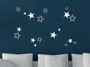 Sterne Deko Kinderzimmer : wandtattoo sterne deko f r weihnachten wandtattoo de ~ Markanthonyermac.com Haus und Dekorationen