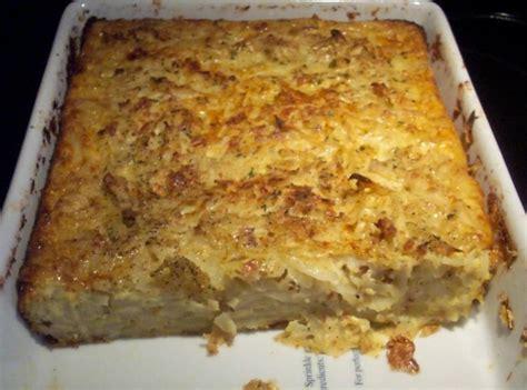 lithuanian kugelis  potato bacon dish recipe