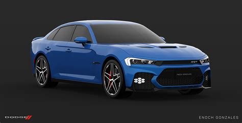 Dodge 2019 : Here's A Take On The Facelifted 2019 Dodge Charger Srt