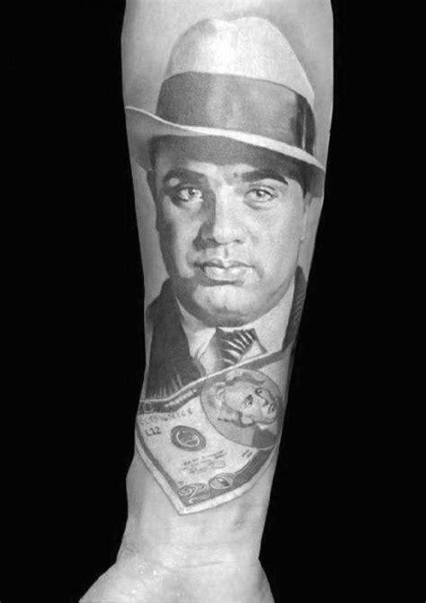al capone tattoos  men gangster design ideas